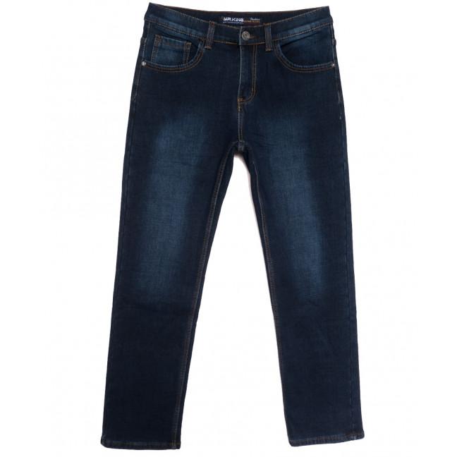 86298 Mr.King джинсы мужские полубатальные на флисе синие зимние стрейчевые (32-42, 8 ед.) Mr.King: артикул 1115563