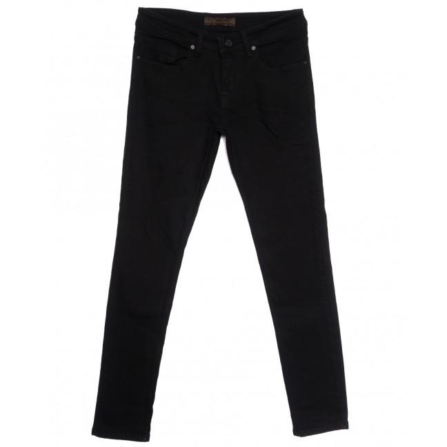 1718 черные Konica джинсы мужские на байке зимние стрейчевые (29-36, 7 ед.) Konica: артикул 1116149