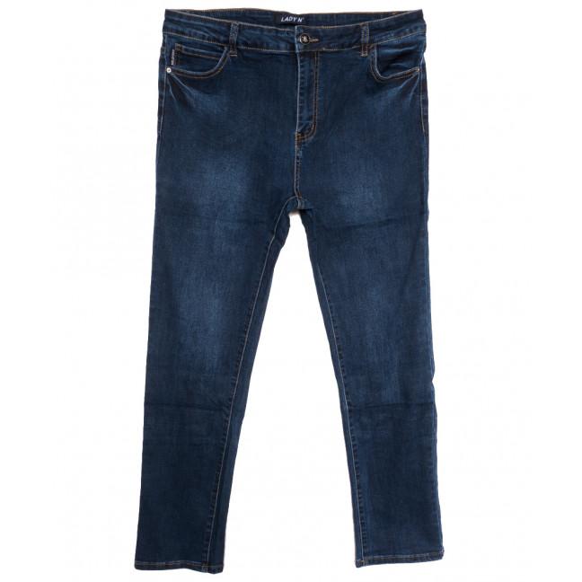 1649 Lady N джинсы женские батальные синие осенние стрейчевые (32-42, 6 ед.) Lady N: артикул 1115833