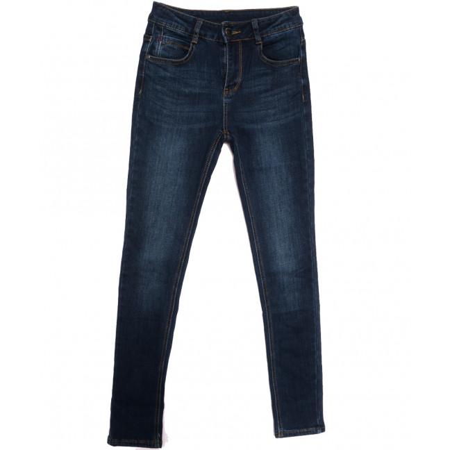 0153 (L153) Lelena джинсы женские на байке синие зимние стрейчевые (25-30, 6 ед.) Lelena: артикул 1115923