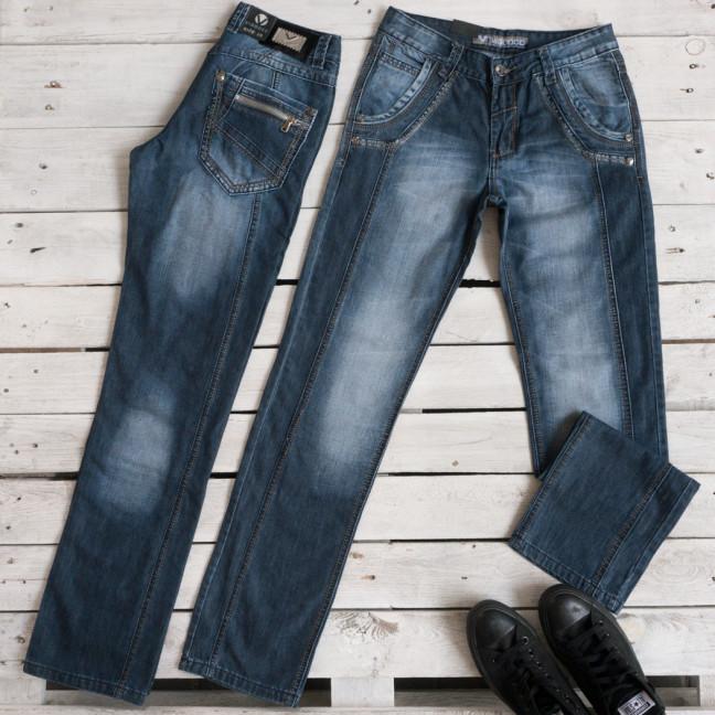 5832-2 Vigooc джинсы мужские молодежные синие осенние стрейчевые (28-34, 7 ед.) Vigoocc: артикул 1116004