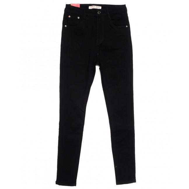 5263 Forest Jeans джинсы женские полубатальные черные осенние стрейчевые (28-33, 6 ед.) Forest Jeans: артикул 1115544