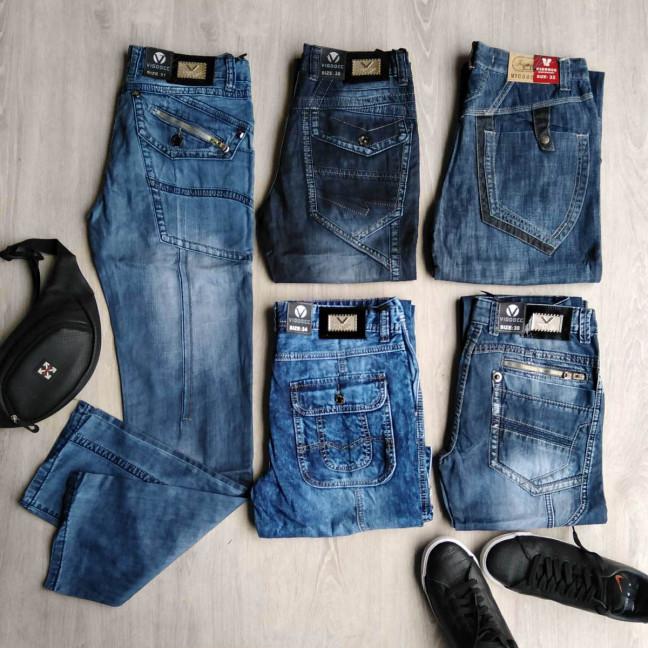1029 Vigoocc джинсы мужские микс моделей и размеров (35 ед.) #партнер10 Vigoocc: артикул 1115023
