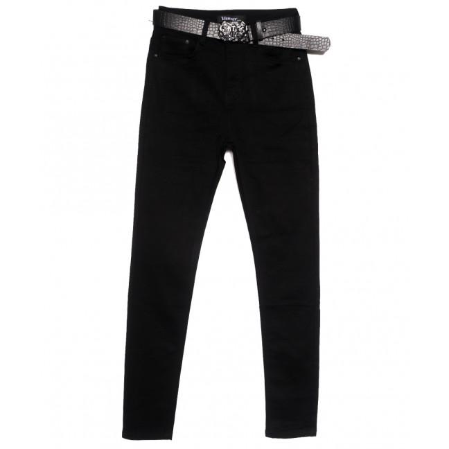 81387 Vanver джинсы женские полубатальные черные осенние стрейчевые (28-33, 6 ед.) Vanver: артикул 1115606
