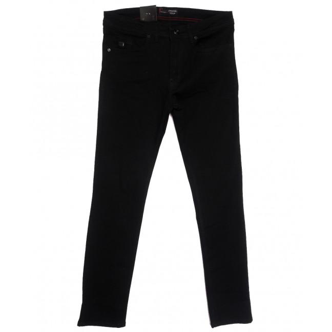 0101 Original Denim джинсы мужские полубатальные черные осенние стрейчевые (33-36, 8 ед.) Original denim: артикул 1115779