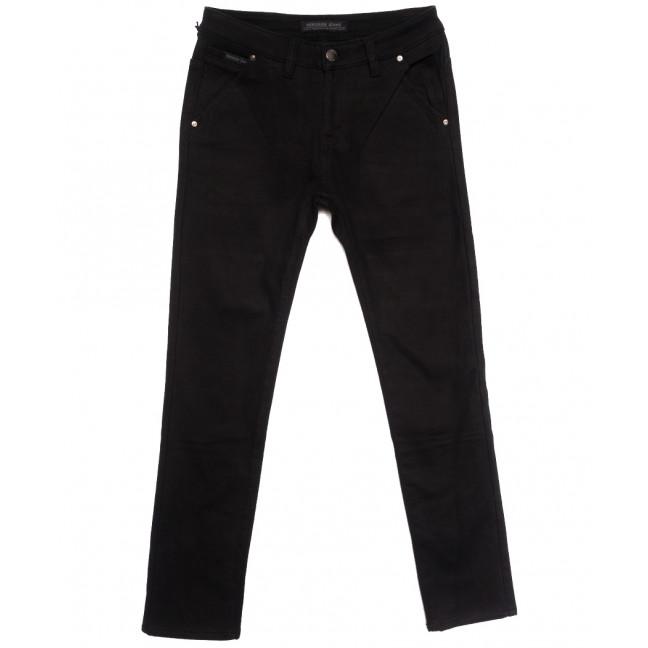 01477 Reigouse джинсы мужские на флисе черные зимние стрейчевые (29-38, 8 ед.) REIGOUSE: артикул 1115735