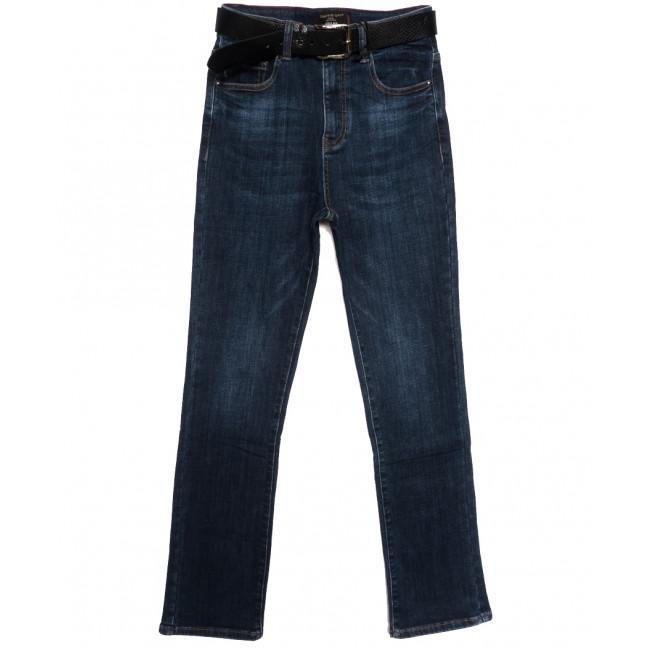 9695 Dimarkis Day джинсы женские батальные на флисе синие зимние стрейчевые (30-36, 6 ед.) Dimarkis Day: артикул 1115682