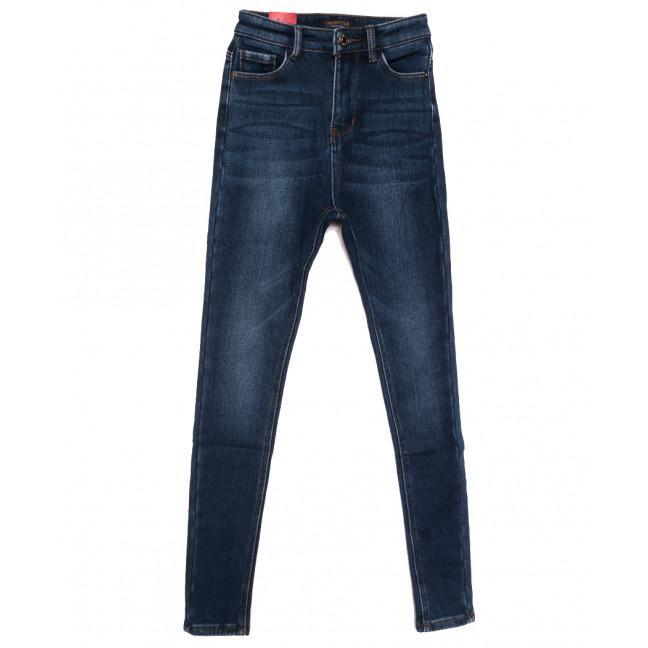3612 Crosstyle джинсы женские на флисе синие зимние стрейчевые (25-30, 6 ед.) Crosstyle: артикул 1115574