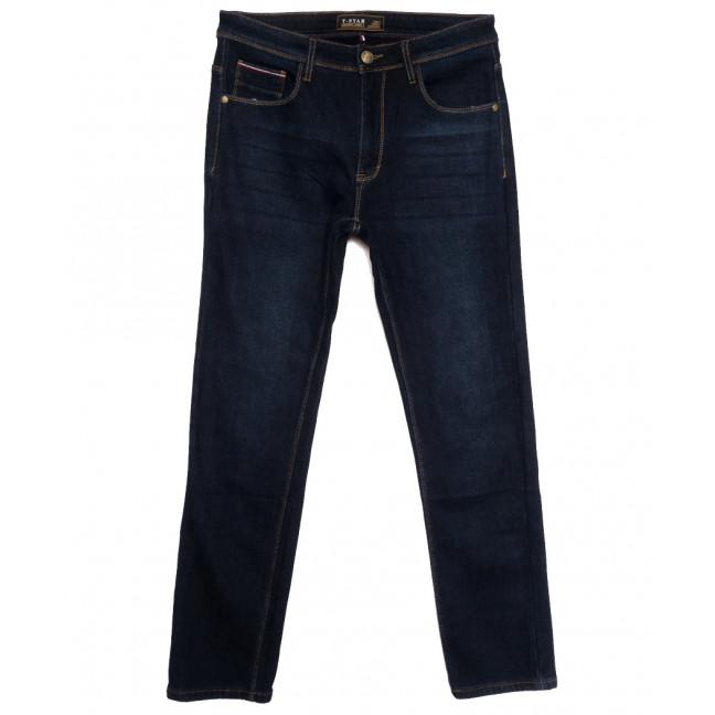 06999 T-Star джинсы мужские полубатальные на флисе темно-синие зимние стрейчевые (32-40, 8 ед.) T-Star: артикул 1115728