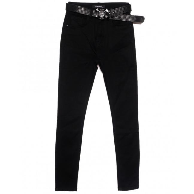 81531 Vanver джинсы женские полубатальные черные осенние стрейчевые (28-33, 6 ед.) Vanver: артикул 1115603