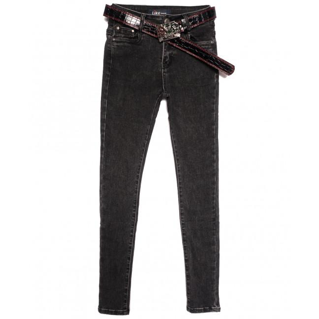 6231 Like джинсы женские серые осенние стрейчевые (25-30, 6 ед.) Like: артикул 1115269
