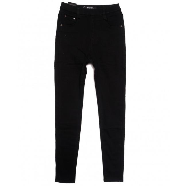 6015 Miss Free джинсы женские на байке черные зимние стрейчевые (26-31, 6 ед.) Miss Free: артикул 1115238