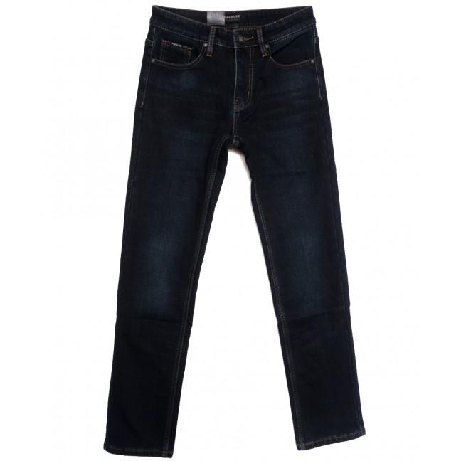 1027 Pаgalee джинсы мужские на флисе темно-синие зимние стрейчевые (30-38, 8 ед.) Pagalee: артикул 1115716