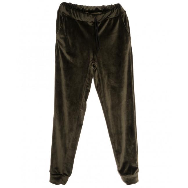0201-42 хаки Exclusive брюки женские спортивные осенние стрейчевые (42-48,норма, 4 ед.) Exclusive: артикул 1115962