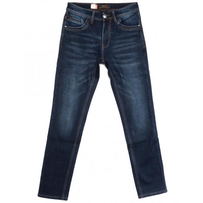 18247 Vouma-Up джинсы мужские на флисе синие зимние стрейчевые (29-36, 8 ед.) Vouma-Up: артикул 1115827