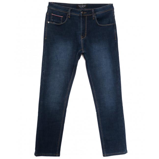 9022 Mаrk Walker джинсы мужские полубатальные на флисе синие зимние стрейчевые (32-40, 8 ед.) Mark Walker: артикул 1115746