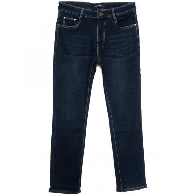 8008 Lavrs джинсы мужские на флисе синие зимние стрейчевые (29-38, 8 ед.) Lavrs: артикул 1115678