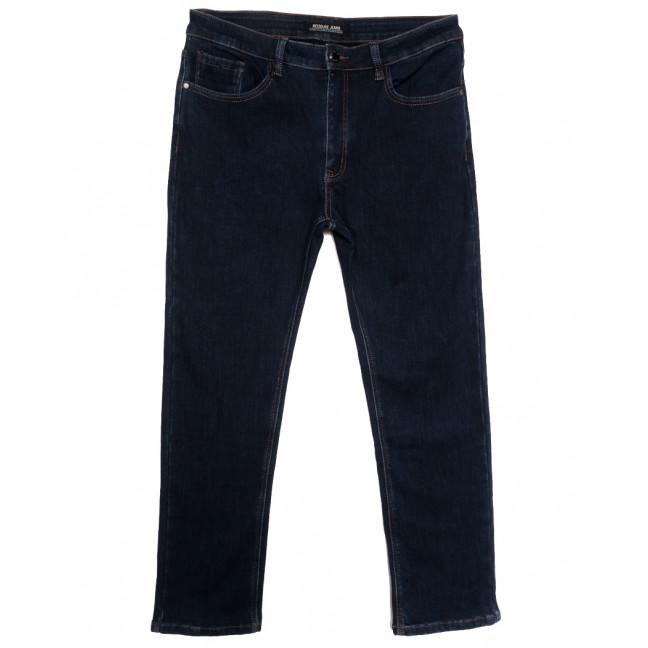 29777 Reigouse джинсы мужские батальные на флисе темно-синие зимние стрейчевые (34-44, 8 ед.) REIGOUSE: артикул 1115720