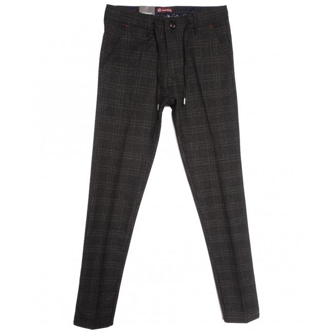 0351 темно-серые Missouri брюки мужские осенние стрейчевые (29-34, 7 ед.) Missouri: артикул 1115935