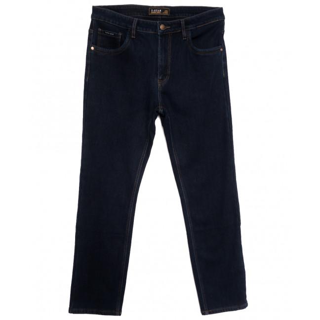 02999 T-Star джинсы мужские батальные на флисе темно-синие зимние стрейчевые (34-44, 8 ед.) T-Star: артикул 1115731