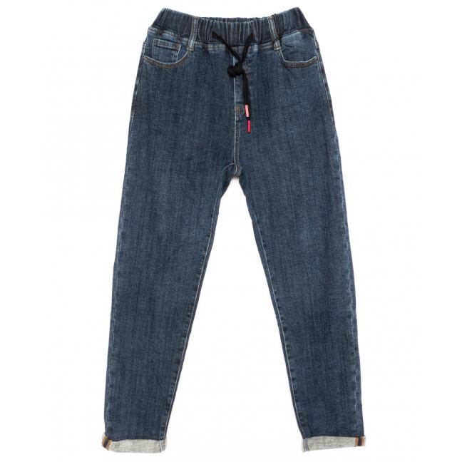 9501 Dimarkis Day джинсы женские полубатальные на байке синие зимние стрейчевые (28-33, 6 ед.) Dimarkis Day: артикул 1116441