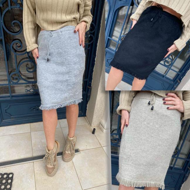 32001 Weini женская шерстяная юбка микс цветов (универсал 48/52, 3 ед.)#партнер10 Weini: артикул 1116729