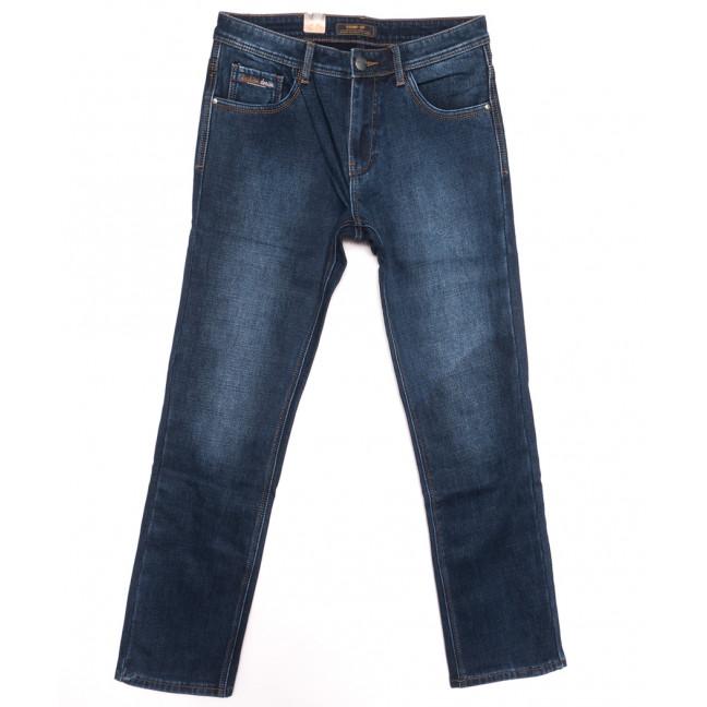 18242 Vouma up джинсы мужские полубатальные на байке синие зимние стрейчевые (32-38, 8 ед.) Vouma-Up: артикул 1116379