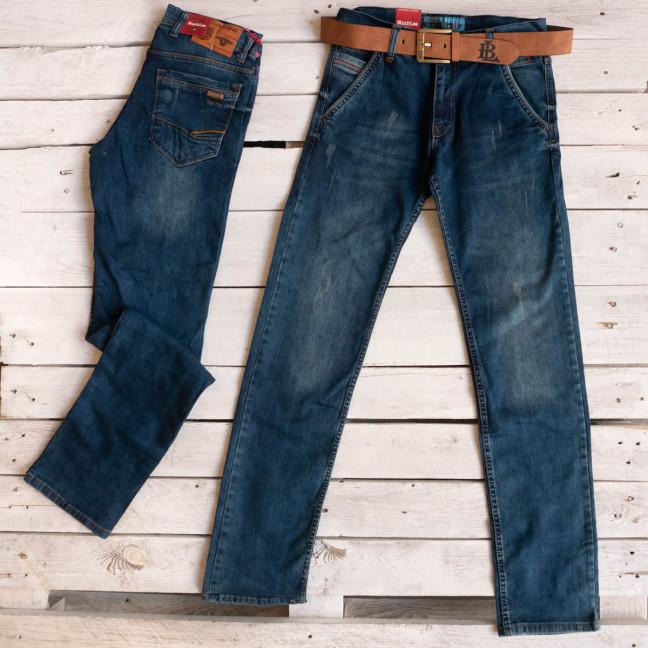 5807 Black Lee джинсы мужские синие осенние стрейчевые (29-36, 7 ед.) Black Lee: артикул 1116919