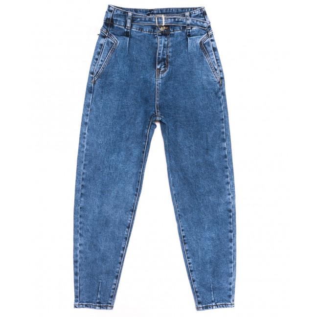 9566 LDM джинсы-баллон синие осенние стрейчевые (25-30, 6 ед.) LDM: артикул 1116521