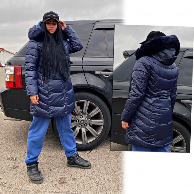 Куртка темно-синяя женская зимняя батальная 1911-1 Куртка: артикул 1116912