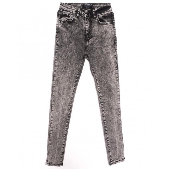 6001 Forgina джинсы женские серые осенние стрейчевые (26-31, 6 ед.) Forgina: артикул 1116527