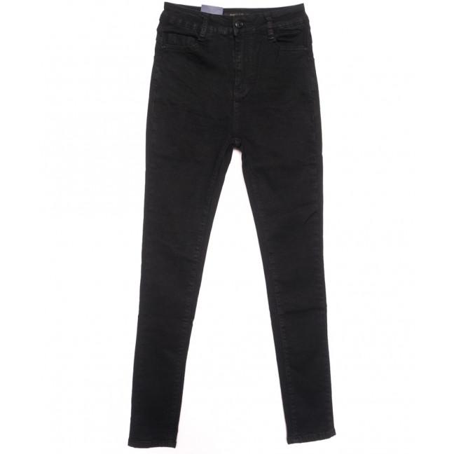 5417 Gallop джинсы женские на байке черные зимние стрейчевые (26-31, 6 ед.) Gallop: артикул 1116367