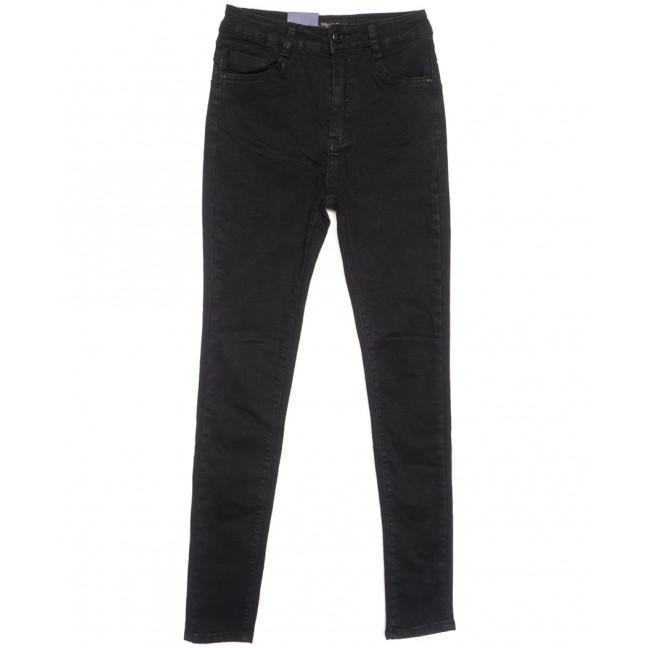 5421 Gallop джинсы женские на байке черные зимние стрейчевые (27-31, 6 ед.) Gallop: артикул 1116369