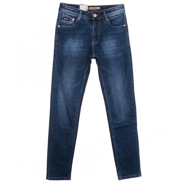 2095 (2095-А) Megoss джинсы мужские молодежные синие осенние стрейчевые (28-34, 8 ед.) Megoss: артикул 1116409
