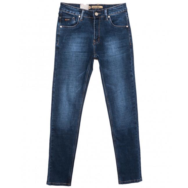 2096 (2096-А) Megoss джинсы мужские молодежные синие осенние стрейчевые (28-34, 8 ед.) Megoss: артикул 1116410