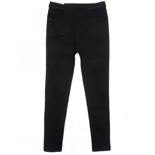 0726 (0726-L) Forest Jeans американка батальная черная осенняя стрейчевая (30-36, 6 ед.) Forest Jeans: артикул 1116399