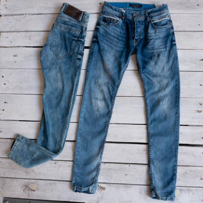 0198 Exclusive джинсы мужские синие весенние стрейчевые микс моделей и размеров (29-36,8 ед.) Exclusive: артикул 1116841