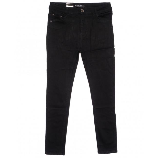 6014 Miss Free джинсы женские батальные на байке черные зимние стрейчевые (32-38, 6 ед.) Miss Free: артикул 1116540