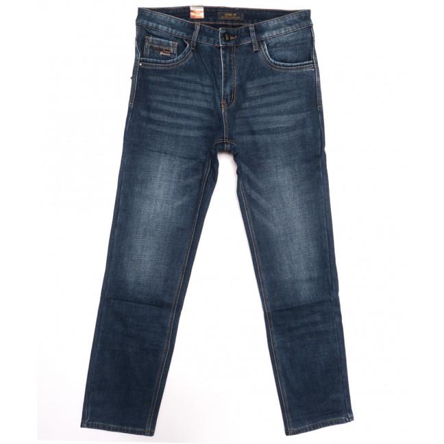 18243 Vouma up джинсы мужские полубатальные на байке синие зимние стрейчевые (32-38, 8 ед.) Vouma-Up: артикул 1116376