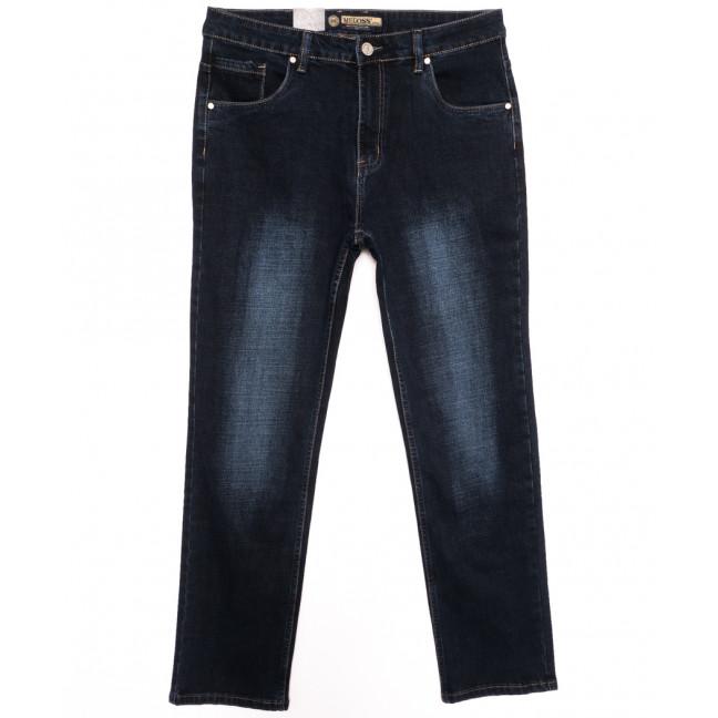 2118 (2118-М) Megoss джинсы мужские батальные темно-синие осенние стрейчевые (36-46, 8 ед.) Megoss: артикул 1116411