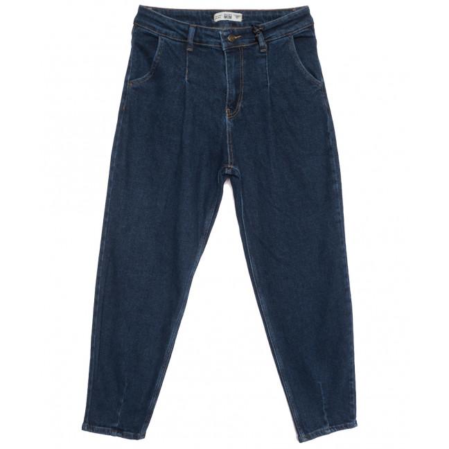 1224 Real Focus джинсы-баллон полубатальные синие осенние стрейчевые (28-33, 6 ед.) Real Focus: артикул 1116336