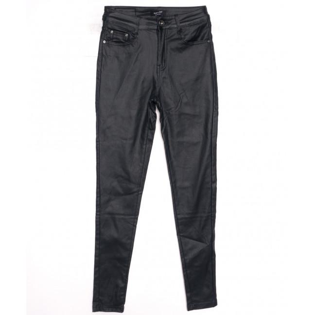 3516 Gallop брюки женские на байке из кожзама темно-синие зимние стрейчевые (XS-XL, 5 ед.) Gallop: артикул 1116360