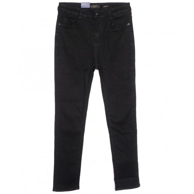 5428 Gallop джинсы женские батальные на байке черные зимние стрейчевые (31-38, 6 ед.) Gallop: артикул 1116365