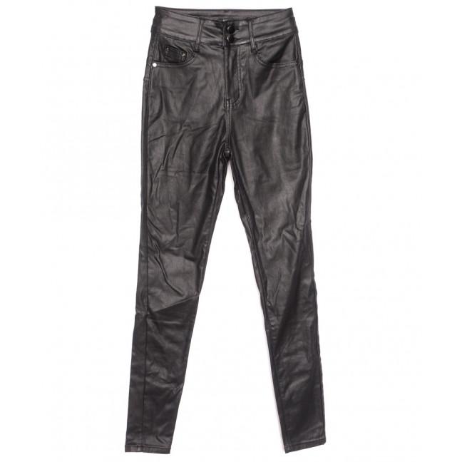 3525 Gallop брюки женские на байке из кожзама черные зимние стрейчевые (34-42,евро, 6 ед.) Gallop: артикул 1116354