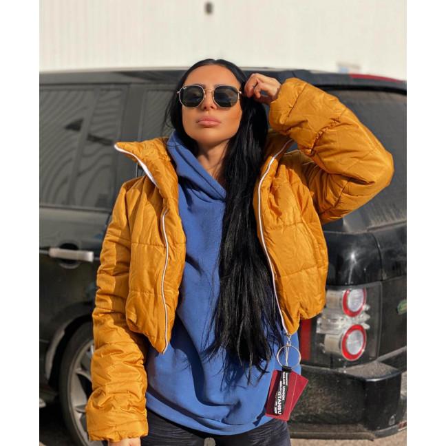 81288-6 оранжевая SRT куртка женская на синтепоне (4 ед. размеры:S.M.L.XL) SRT: артикул 1116631