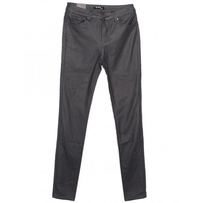 6930 M.Sara брюки женские на байке из кожзама серые зимние стрейчевые (27-32, 6 ед.) M.Sara: артикул 1116905