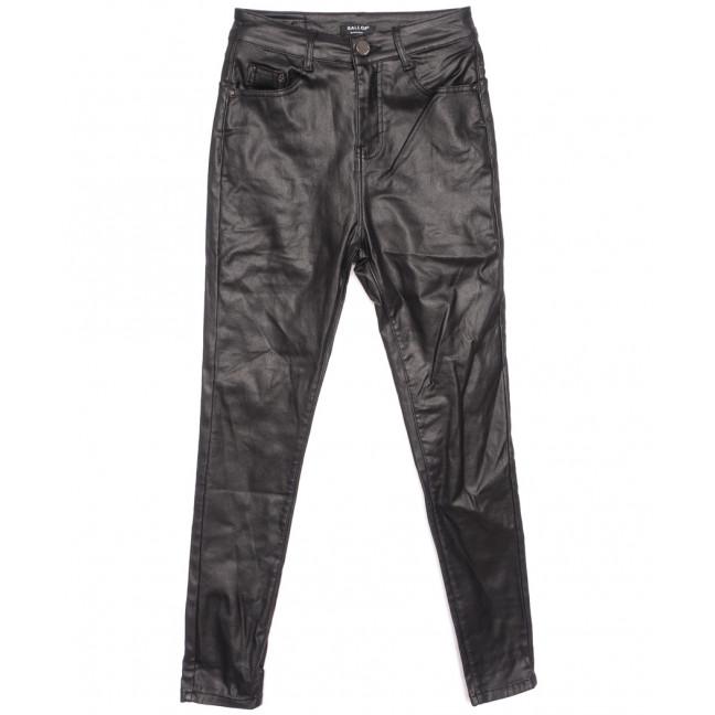 3524 Gallop брюки женские на байке из кожзама черные зимние стрейчевые (XS-ХXL, 6 ед.) Gallop: артикул 1116361