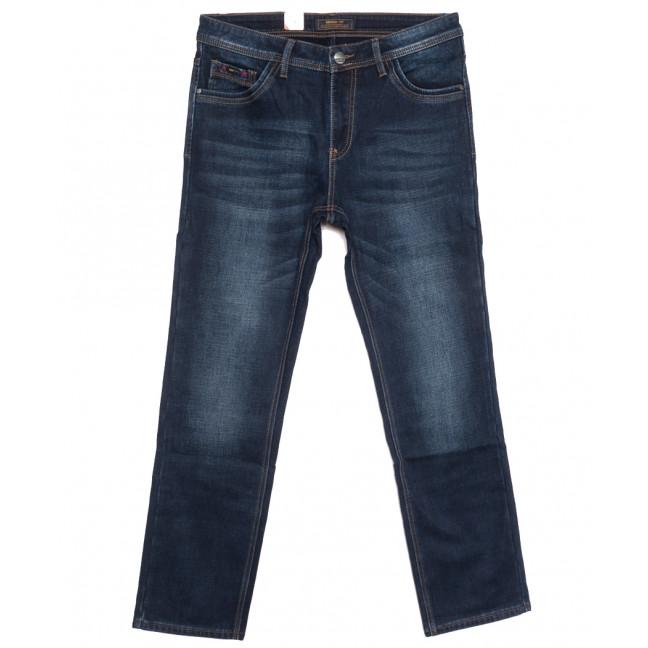 18237 Vouma up джинсы мужские полубатальные на байке синие зимние стрейчевые (32-38, 8 ед.) Vouma-Up: артикул 1116377