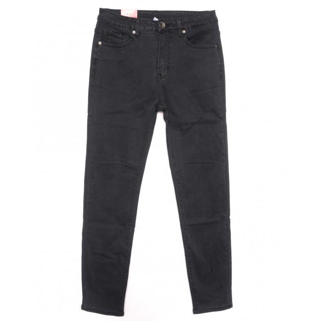 2972 Amor джинсы женские полубатальные на байке серые зимние стрейчевые (30-36, 6 ед.) Amor: артикул 1116371