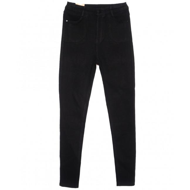 0718 (0718-L) Forest Jeans американка полубатальная черная осенняя стрейчевая (28-33, 6 ед.) Forest Jeans: артикул 1116403